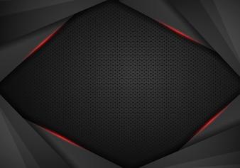現代のハイテクデザインテンプレートの背景