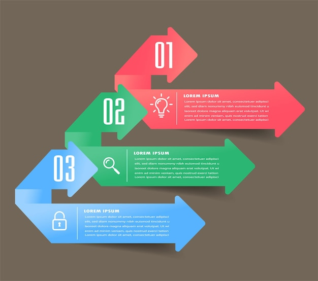 Modern text box template, infographics banner , timeline