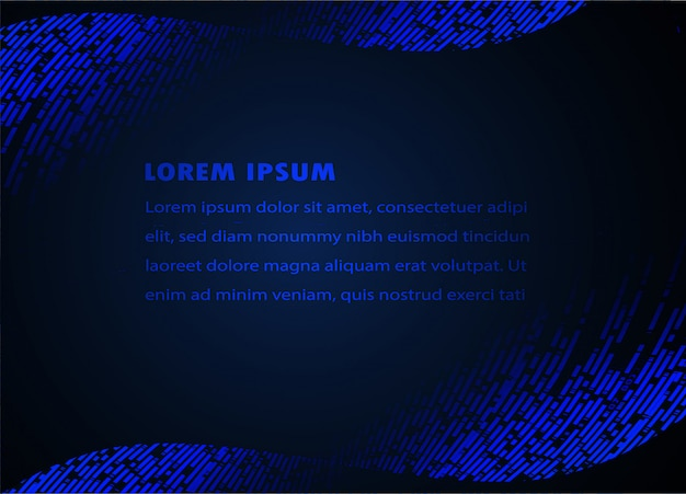 Modern text box template with background