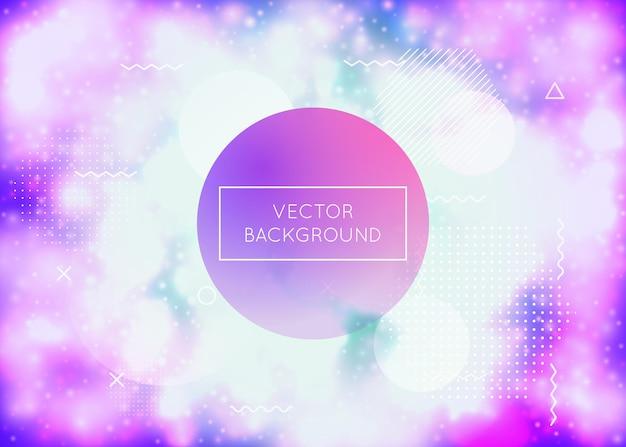 Modern texture. liquid background. gradient fluid. tech screen. round pearlescent magazine. memphis flyer. purple soft shape. vibrant dots. violet modern texture