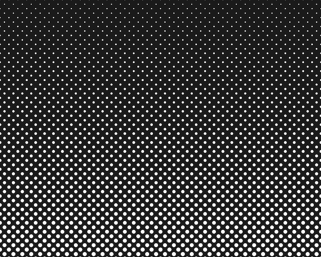 Modern texture polka dot style texture monochrome pattern with dot and circles
