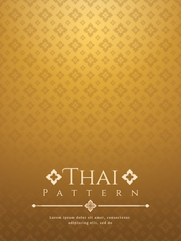 Modern thai background