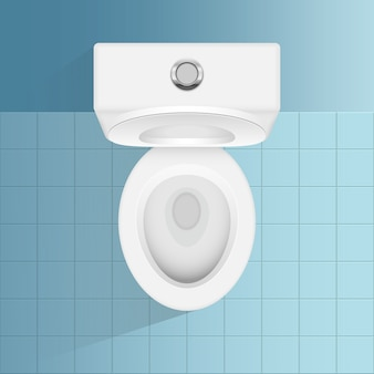 モダンなトイレのイラスト