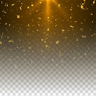 Modern transparent glitters background