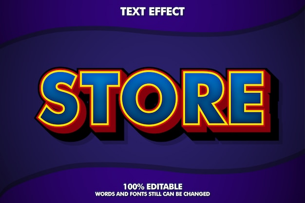 Modern trendy text effect for modern design