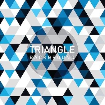 Modern triangle background