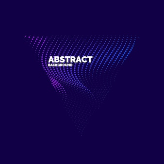 Modern vector abstract background with colored lines. illustration suitable for design
