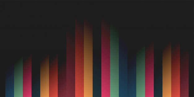 Modern vector of abstract geometric background