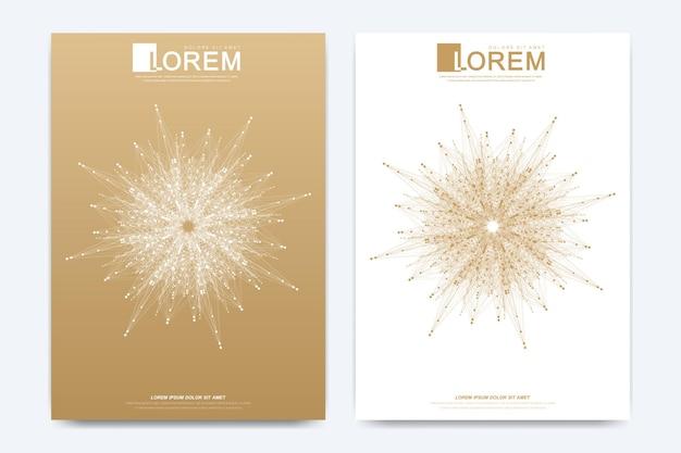브로셔 전단지 전단지 광고 표지 카탈로그 잡지 또는 연례 보고서 골에 대한 현대 벡터 템플릿...