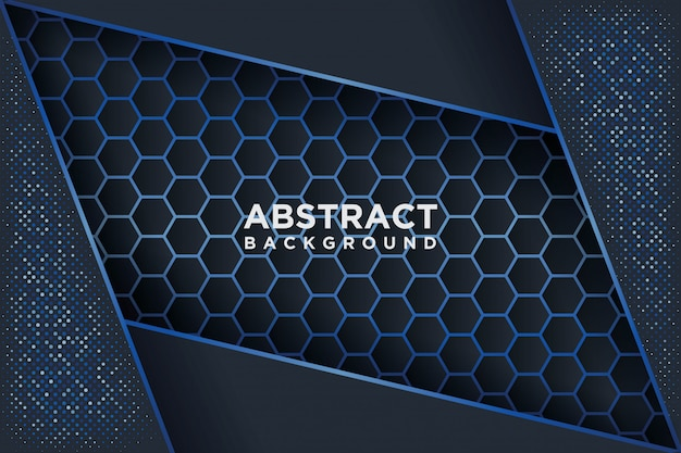 Modern vector templates. abstract background with overlap.