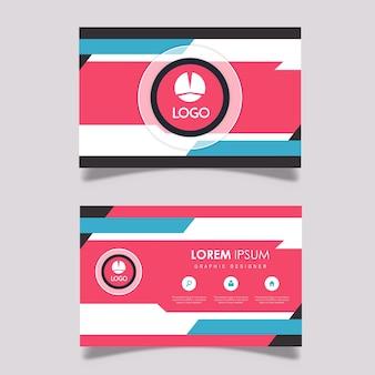 현대 방문 카드 디자인