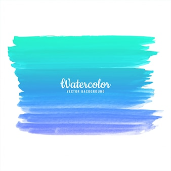 Modern watercolor hand draw stroke