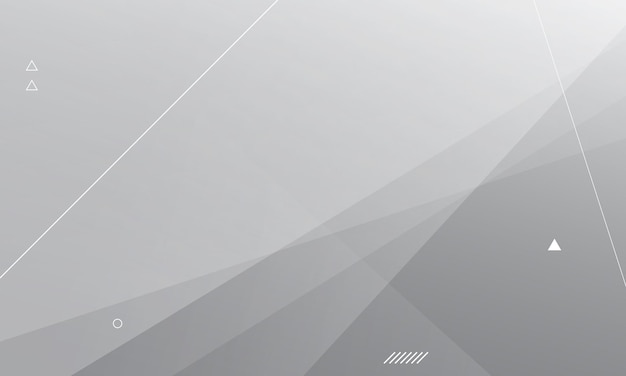 Modern wave banner white and gray background