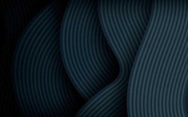 現代の波線の抽象的な背景