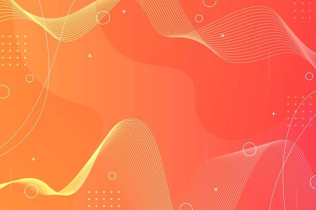 Modern wavy gradient background