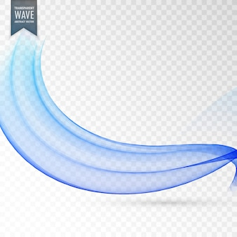 Elegante disegno blu della priorità bassa dell'onda blu