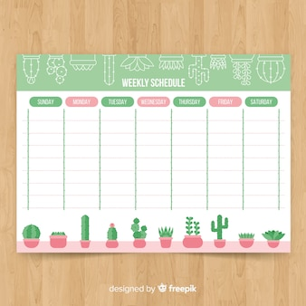 Weekly Planner Vectors Photos And Psd Files Free Download