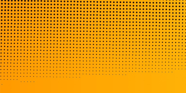 Modern yellow halftone background