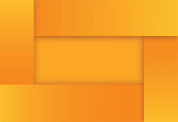 モダンな黄色の正方形