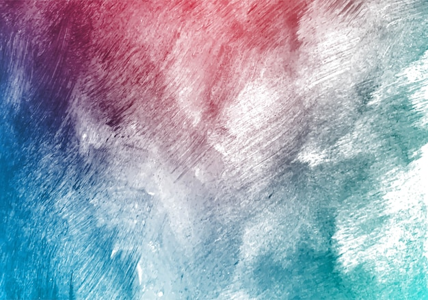 Modren colorful watercolor brush texture