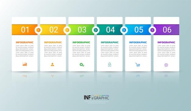 Modren infographic template