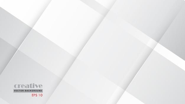 グレーホワイトバックグラウンドmodrenデザイン。勾配のある構図