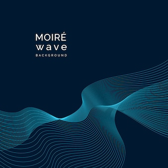 Moiré pattern background