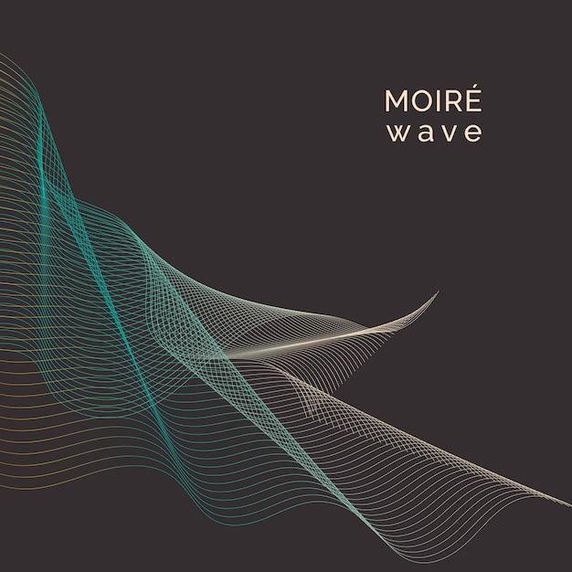 Moiré pattern background