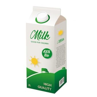 목업 우유