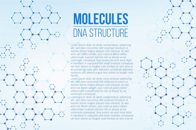 Molecular structure coding connection