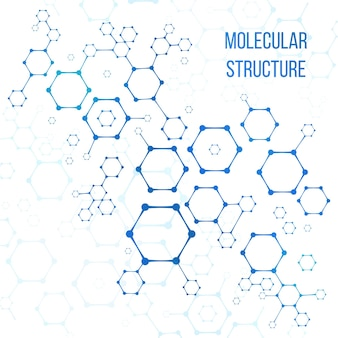 Молекулярная структура или иллюстрация кодирования молекулярной структуры