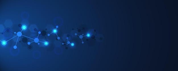 Molecules or dna strand
