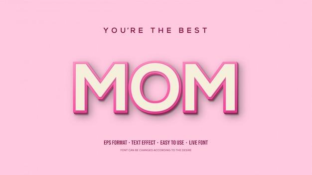 Momの書き込みが重なるベクトルテキスト効果。