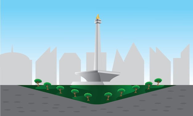 Monas scene background