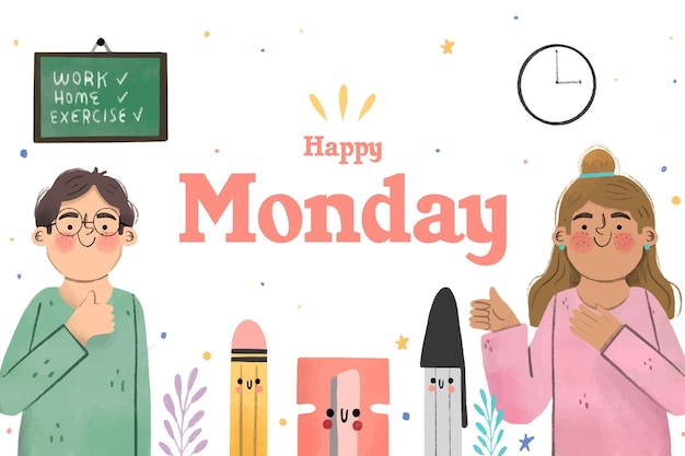 Lunedì - sfondo
