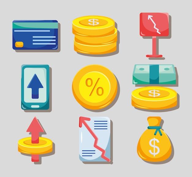 お金と利息のセット