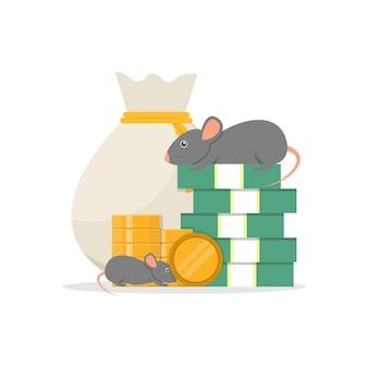 돈과 마우스