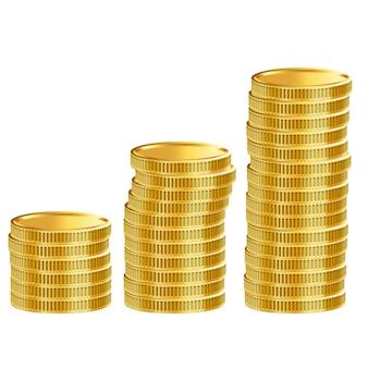 お金の背景のデザイン