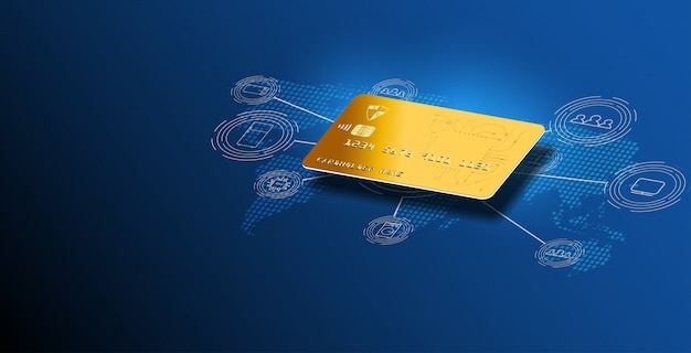 Money cards transfers and financial transactions. credit card background