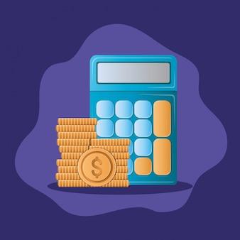 돈 동전과 계산기