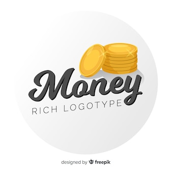 Money concept logo template