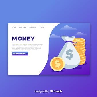 Money landing page
