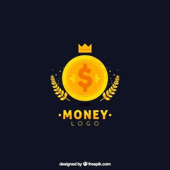 Money logo in flat style