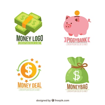 Money logo templates