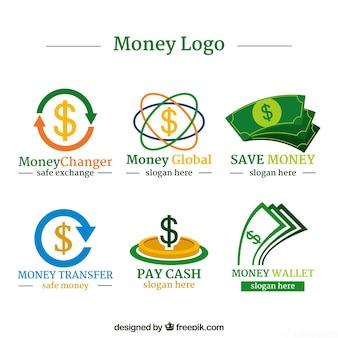 Money logos collection for companies