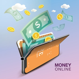 Money online mobile phone