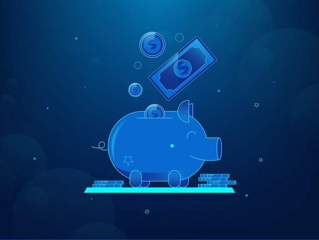 Money save concept