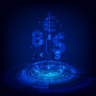 Money transfer background