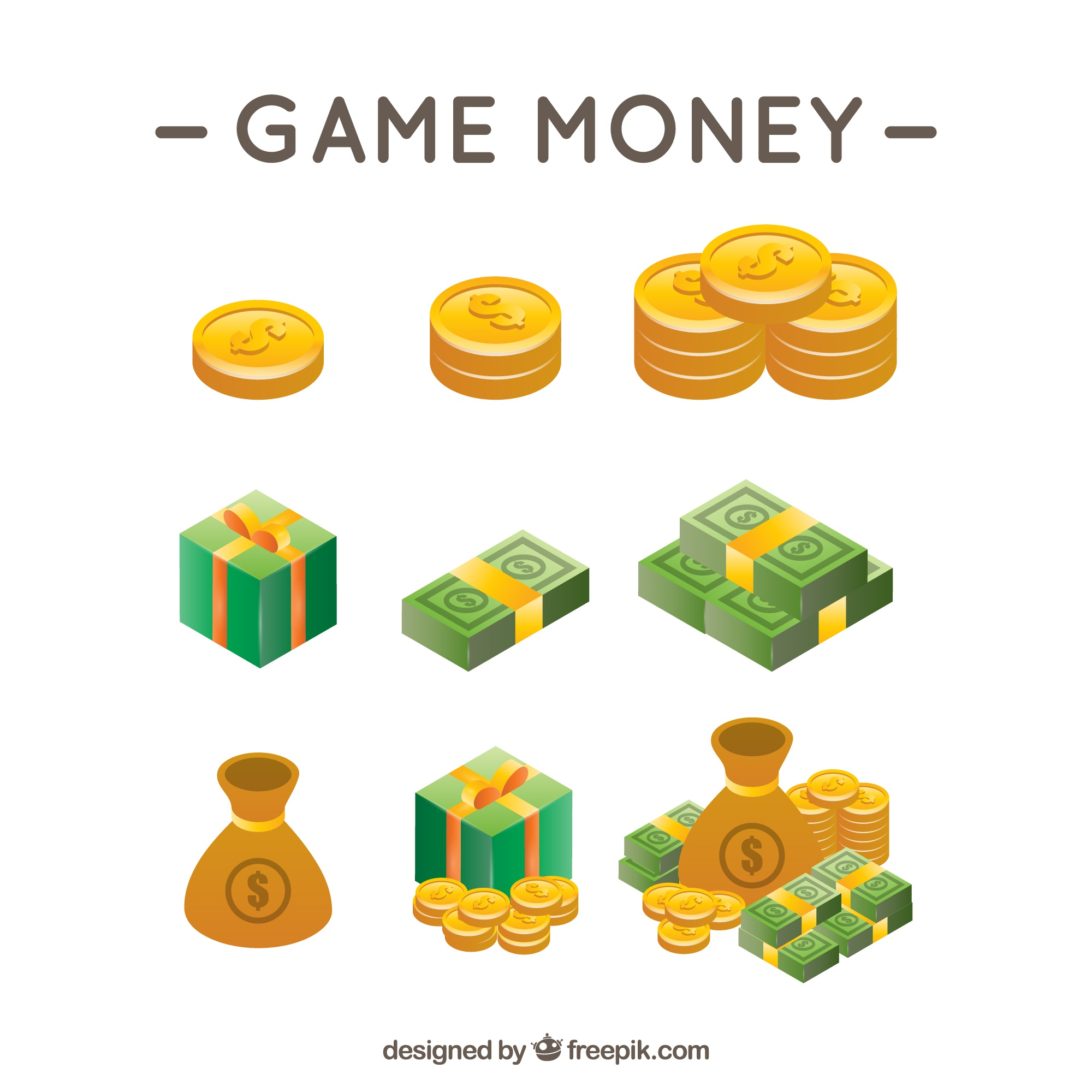 Money video game