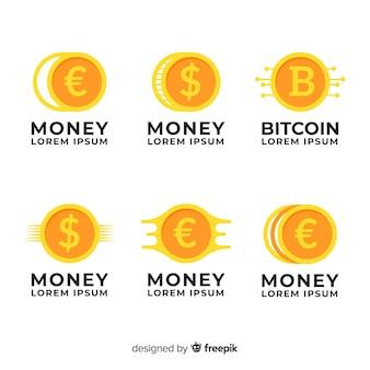 Коллекция шаблонов логотипов money